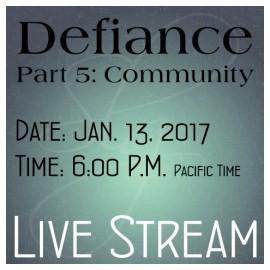 A0001DEF Defiance Part 5: Community